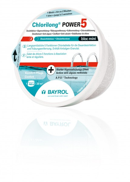 BAYROL Chlorilong Power 5 mini
