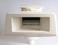 Breitmaul-Skimmer für Folienbecken