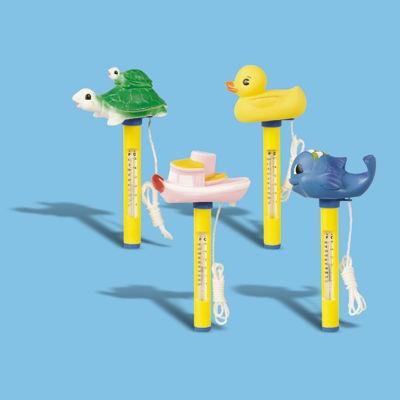 Pool-Thermometer mit Schwimmfigur