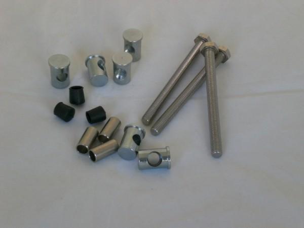 Schraubensatz für Spannring Saphir 600