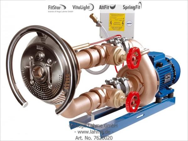 Anschlußsatz TAIFUN, mit RG-Pumpe 2,6 kW, DS