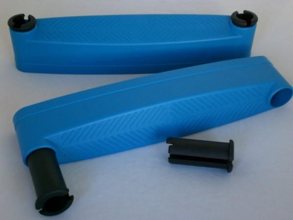 Kunststoff-Stufe blau
